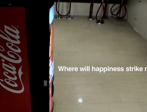 Coca Cola Happiness Machine