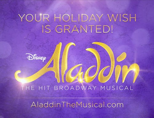 Aladdin Holiday Commercial